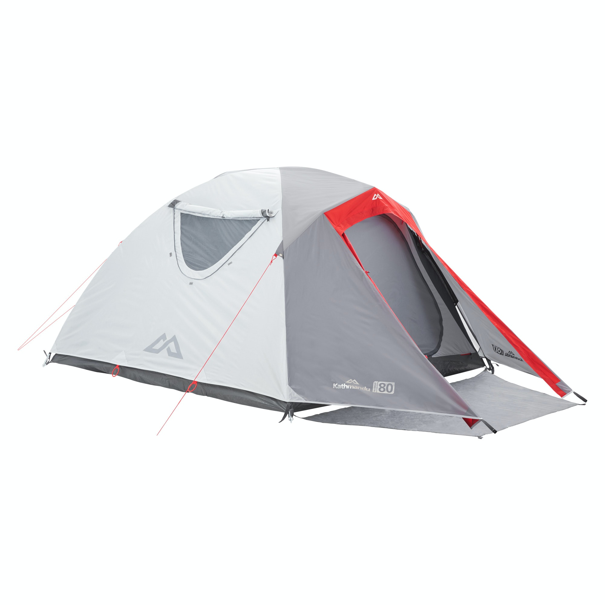 H41  sc 1 st  Kathmandu & Retreat 80 3 Person Tent - Warm Grey/Sunset