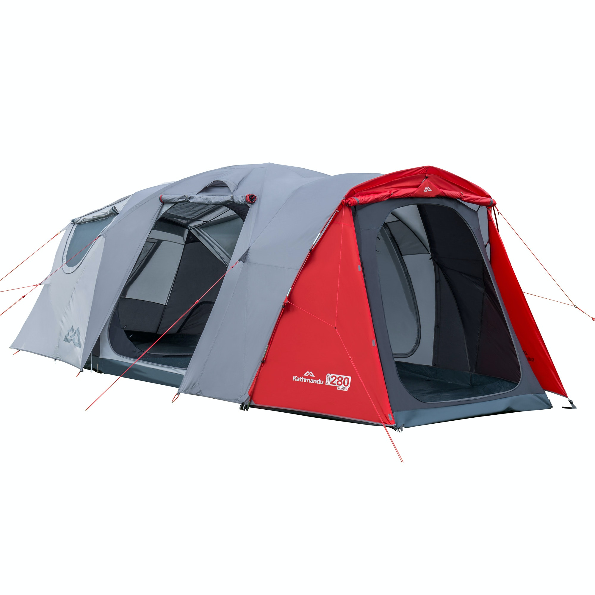 H41  sc 1 st  Kathmandu & Retreat 280 5 Person Module Tent - Warm Grey/Sunset