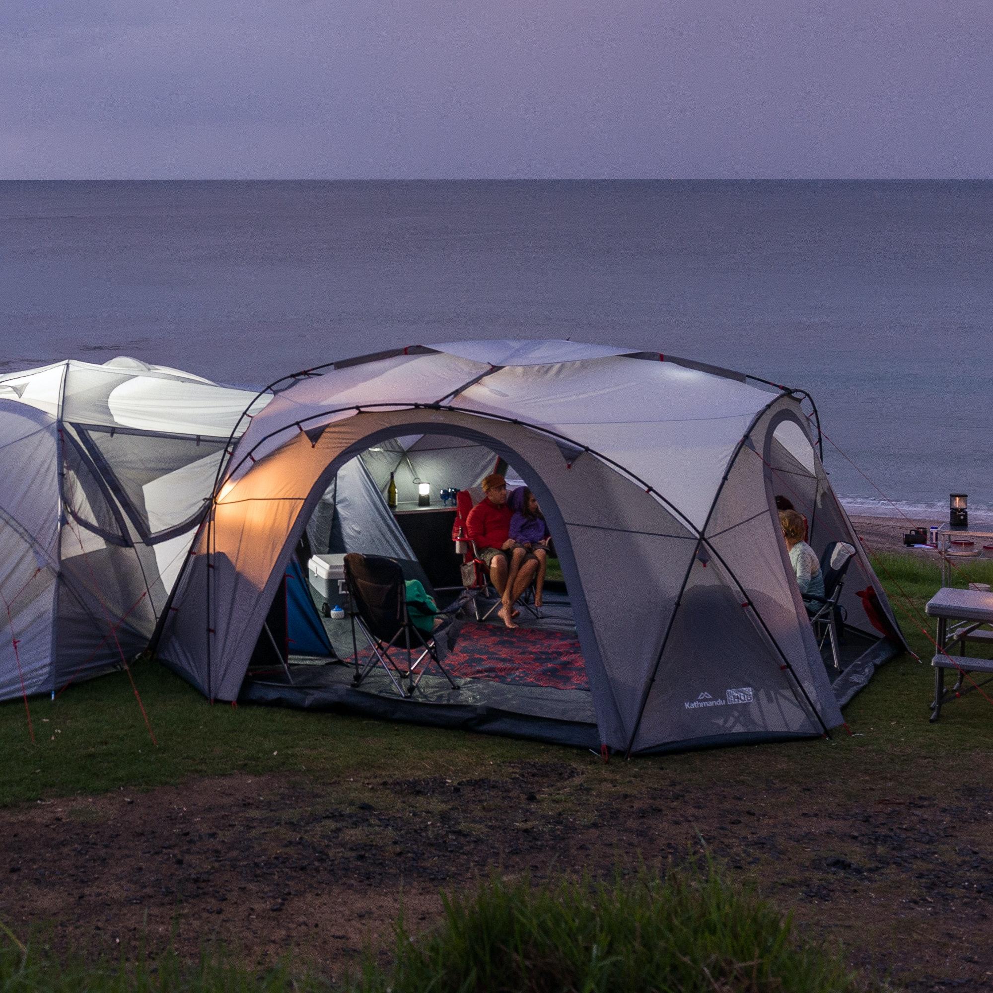 H42 & Retreat 320 6 Person Module Tent - Dark Navy/Cloud