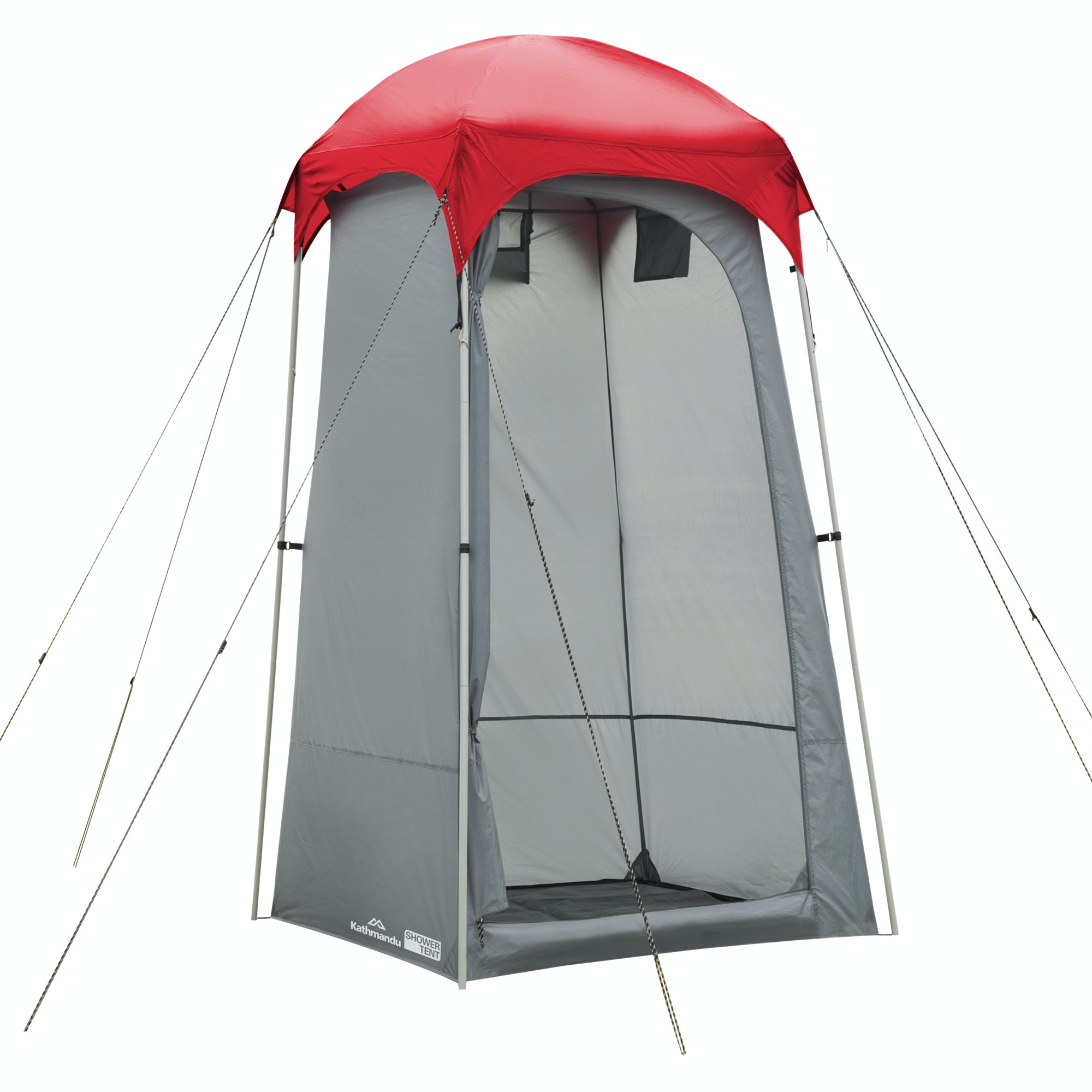 Close ...  sc 1 st  Kathmandu & Retreat Shower Tent v4 - Warm Grey/Sunset
