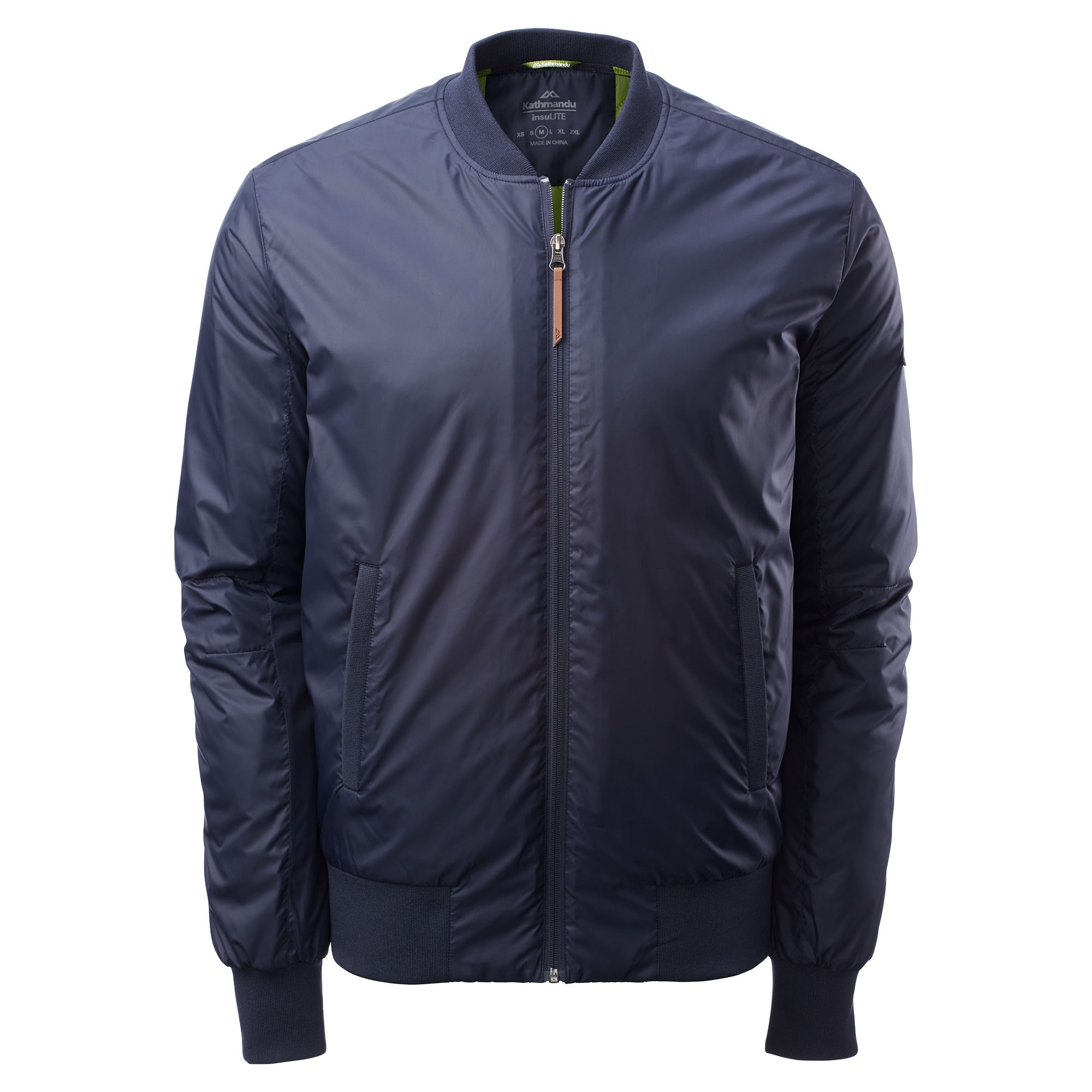 67e0272c6 Details about Kathmandu Contender Insulated Water-Repellent Lightweight  Men's Bomber Jacket
