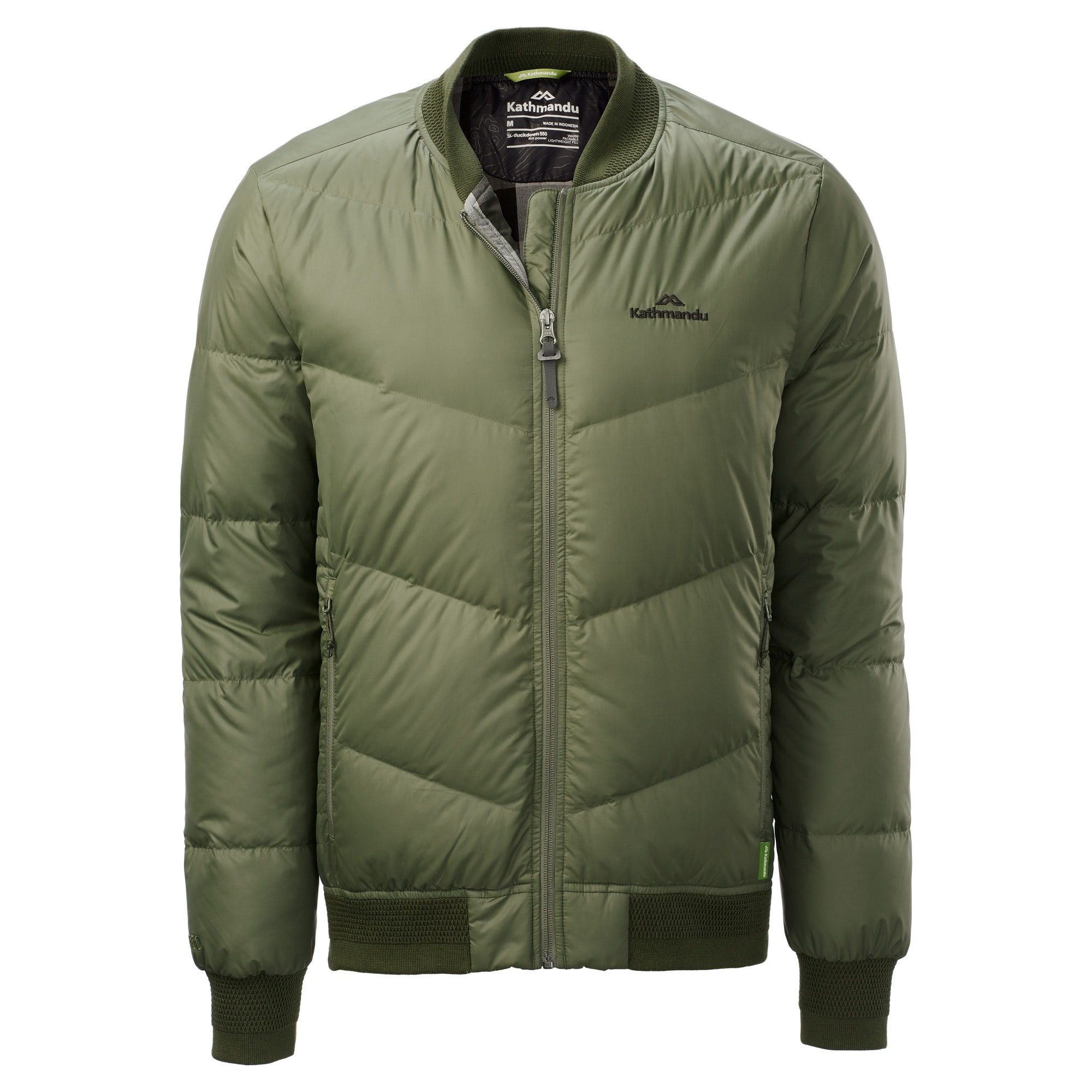 e7bd5c413 Details about NEW Kathmandu Federate Men's Down Bomber Jacket