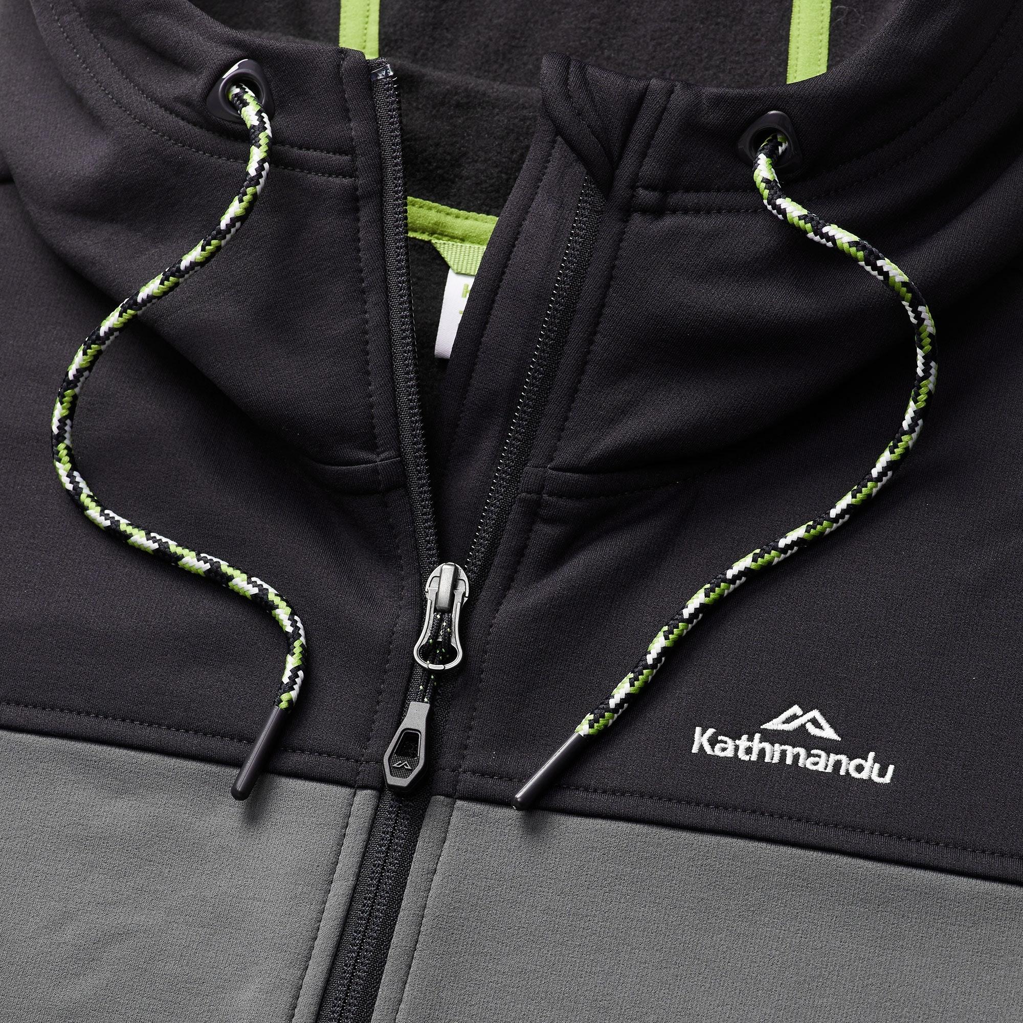 NEW-Kathmandu-Tarras-Mens-Full-Zip-Warm-Hooded-Outdoor-Walking-Jacket-Top