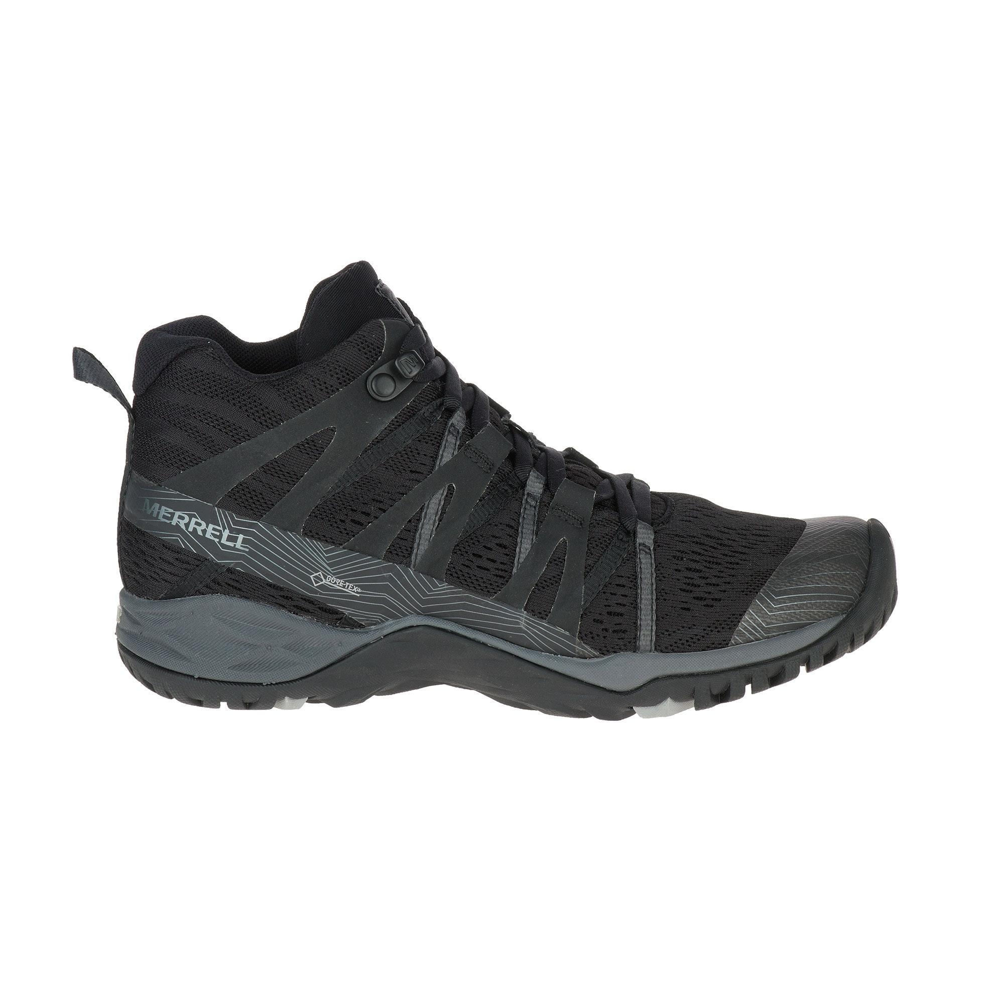 767cc92291 Merrell Women's Siren Hex Q2 Mid E-Mesh Gore-Tex Hiking Boots