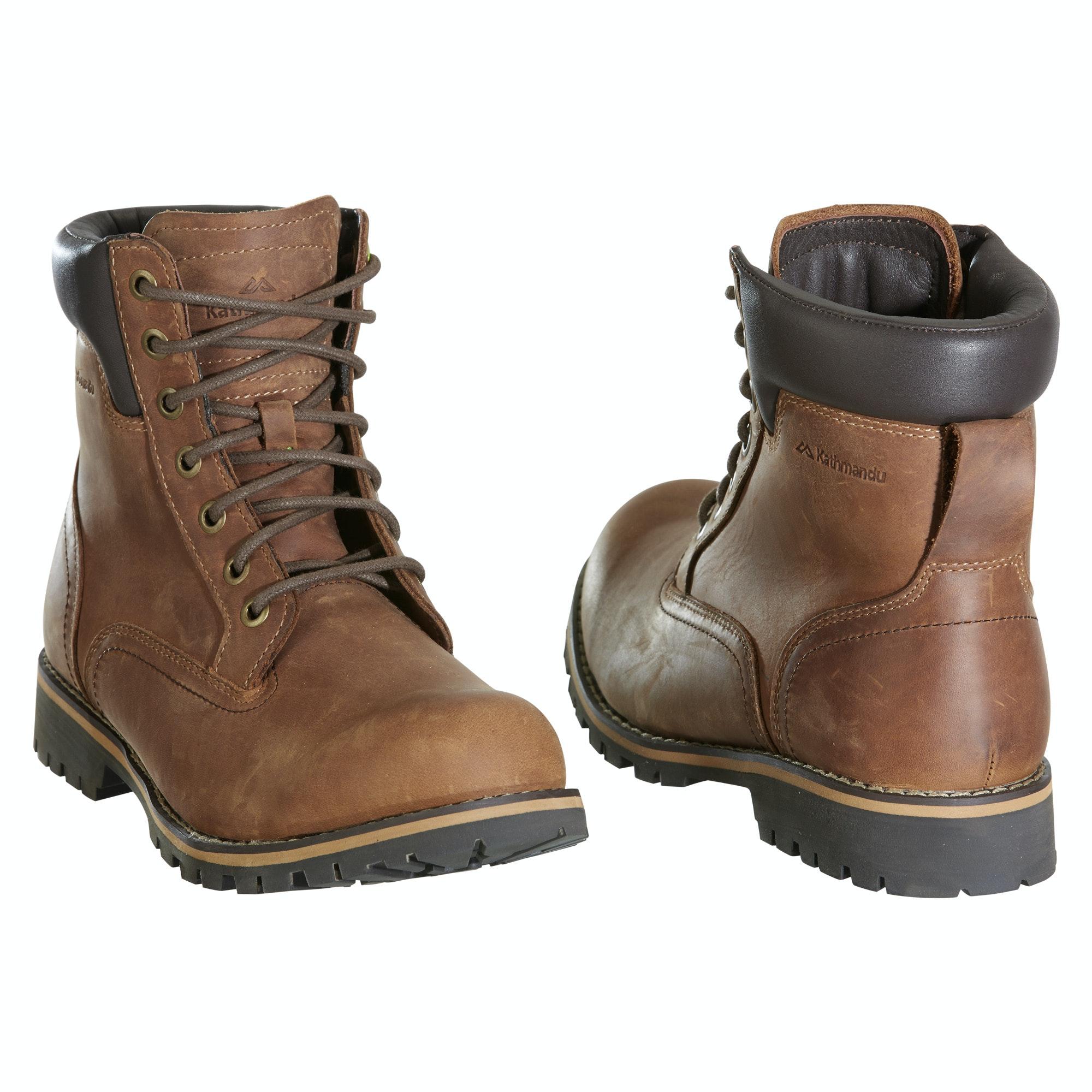 kathmandu seattle mens casual work boot style lace up