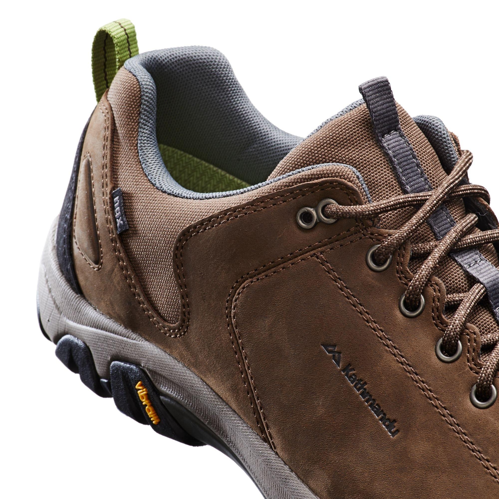 NEW-Kathmandu-Strowan-Men-039-s-Leather-Vibram-Sole-Waterproof-Hiking-Walking-Shoes