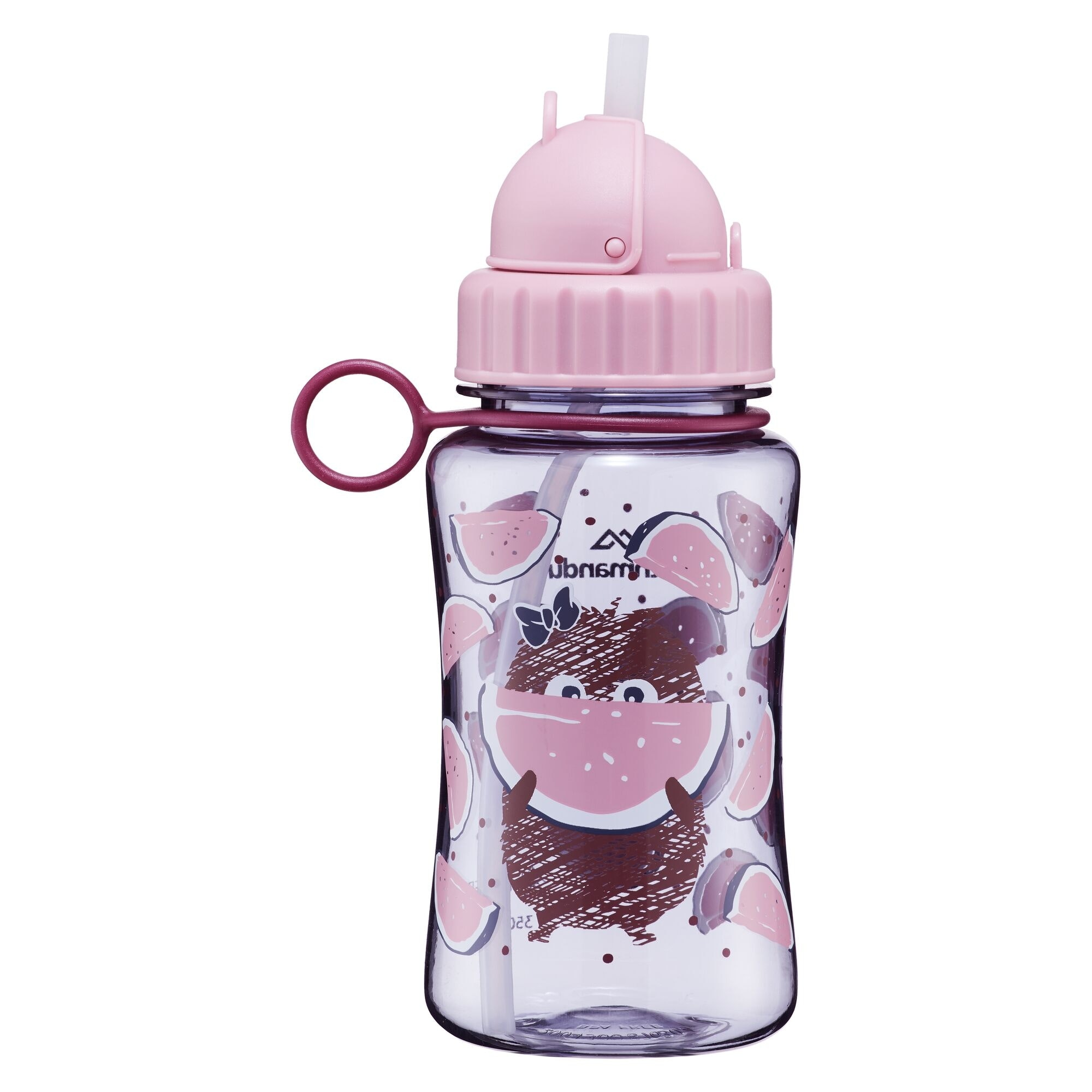 NEW-Kathmandu-Kids-039-Reusable-Plastic-Water-Drink-Bottle-350ml-BPA-Free